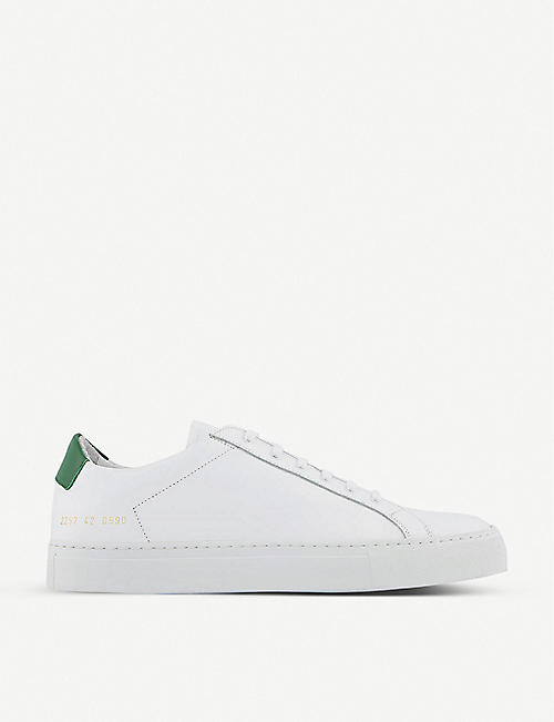 COMMON PROJECTS: Achilles Retro leather low-top trainers