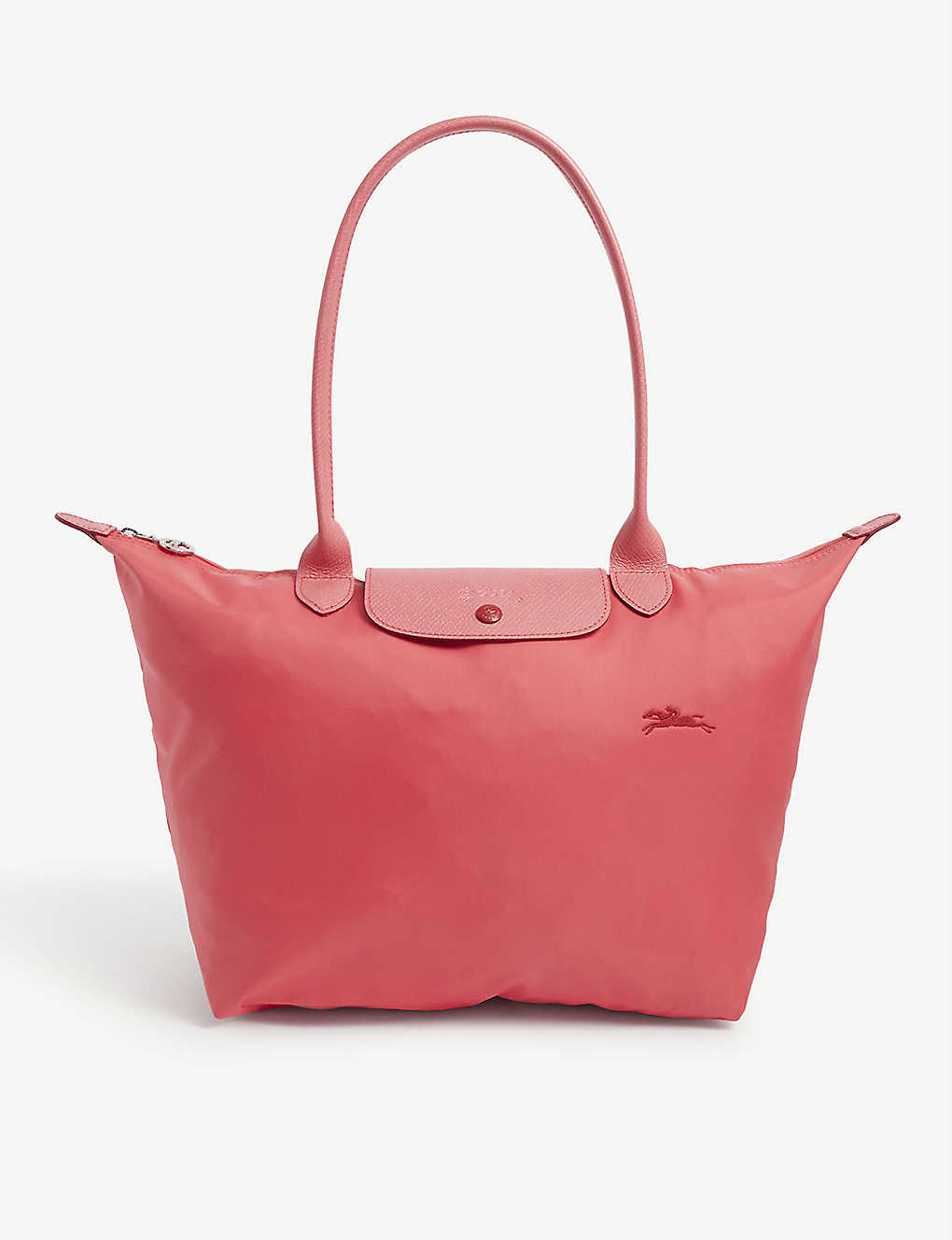 LONGCHAMP: Le Pliage Club large canvas tote bag
