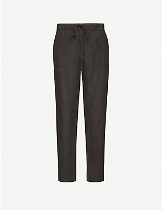 RAILS: Graham mid-rise woven tapered trousers