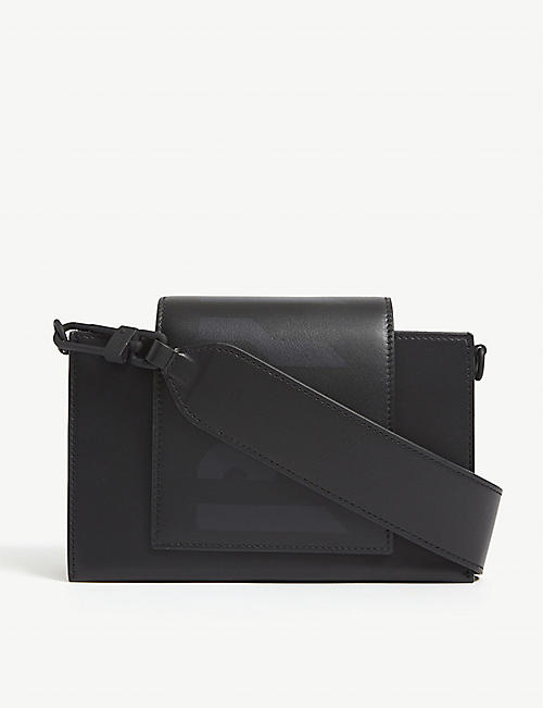 BYREDO: Umbrella leather cross-body bag