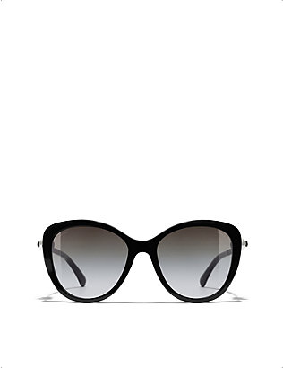 CHANEL: CH5338H butterfly-frame acetate sunglasses
