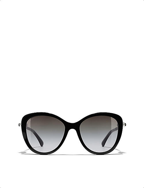 CHANEL CH5338H butterfly-frame acetate sunglasses