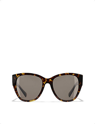 CHANEL: CH5412 butterfly-frame sunglasses