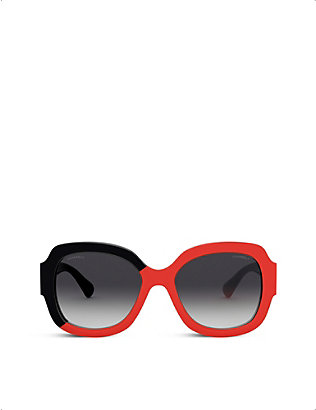 CHANEL: CH5373 square-frame sunglasses
