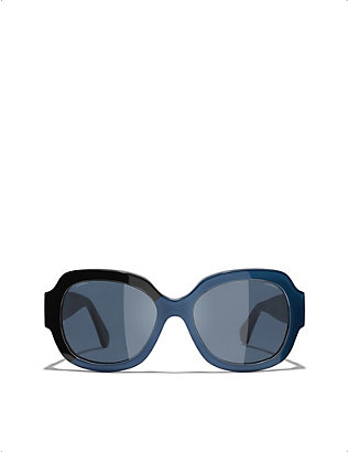 CHANEL: CH5373 acetate square-frame sunglasses