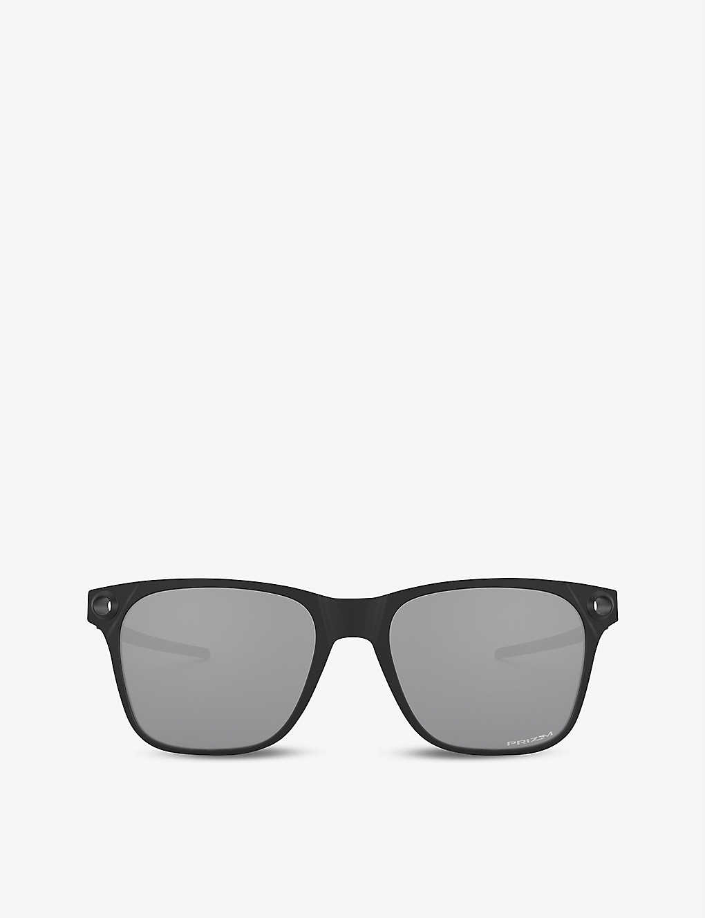 OAKLEY: OO9451-0555 Apparition™ Nano-Matter™ and stainless steel sunglasses