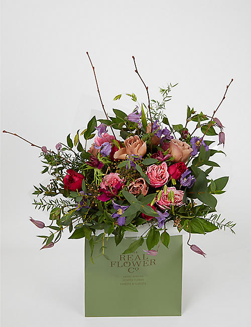 THE REAL FLOWER COMPANY Mother's Day Woodland medium bouquet