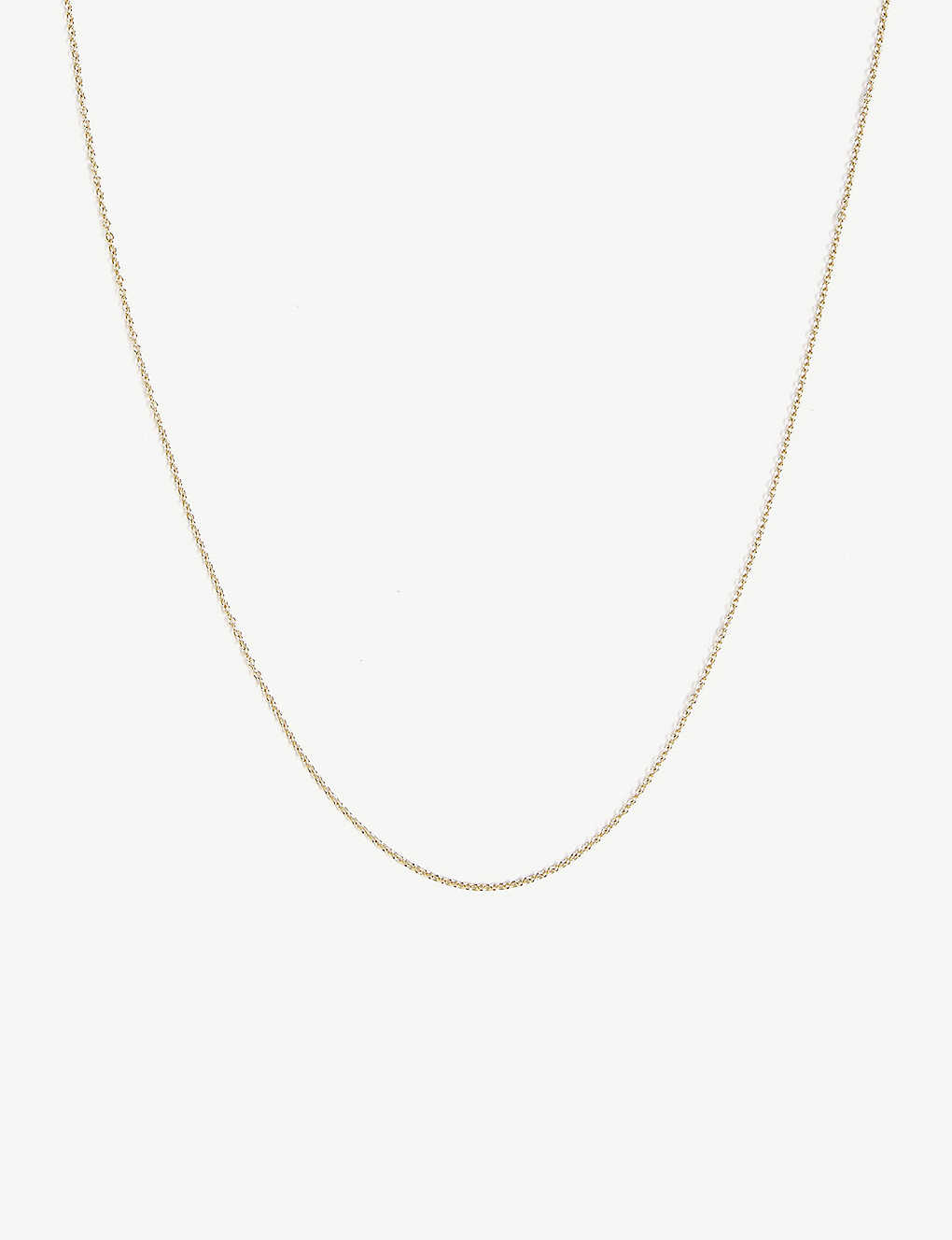 OTIUMBERG: 9ct gold cable chain necklace
