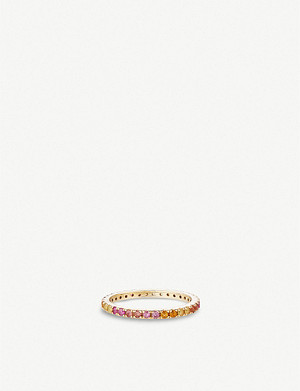 OTIUMBERG Rainbow 9ct gold ring