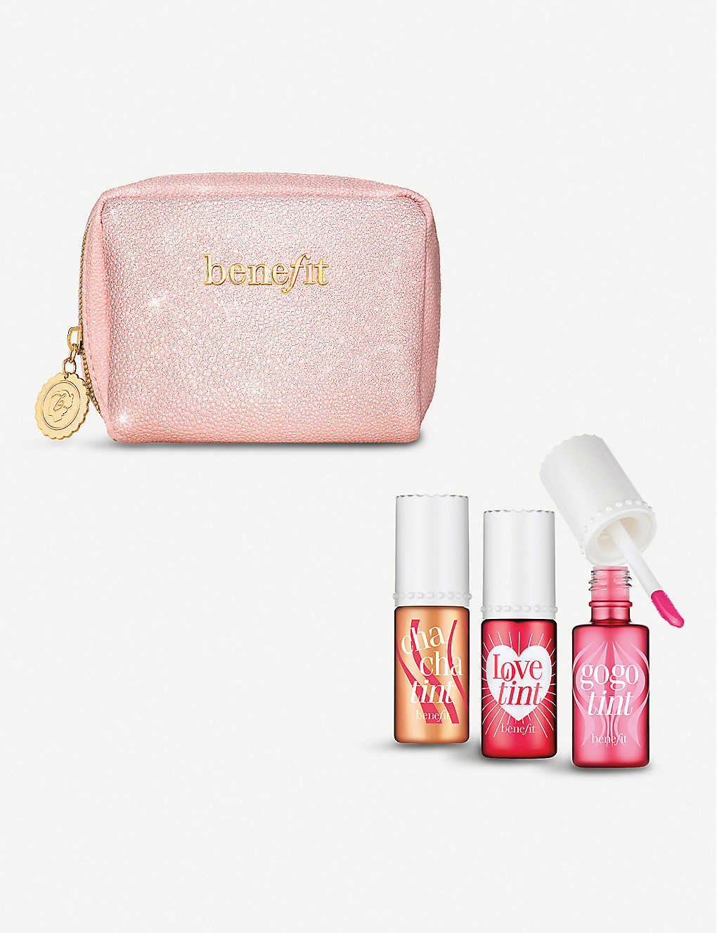 BENEFIT: Love, Lip and Tint set of three