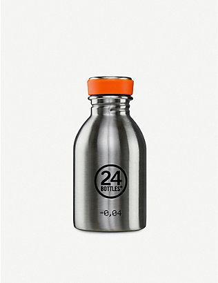 24 BOTTLES: Urban stainless steel bottle 250ml