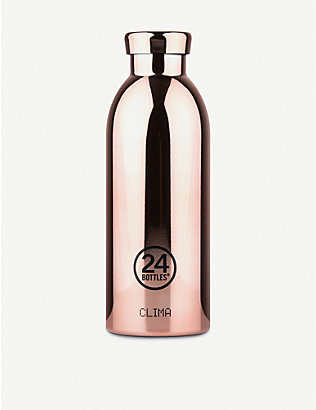24 BOTTLES: Clima stainless steel bottle 500ml