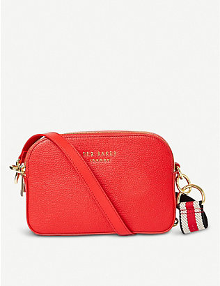 TED BAKER: Amerrah grained leather camera bag