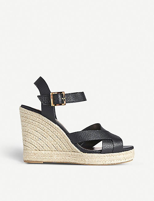 TED BAKER: Sellana strappy espadrille wedge sandals