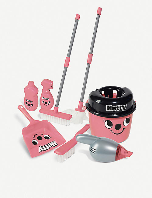 CASDON: Deluxe Hetty Cleaning Trolley toy set