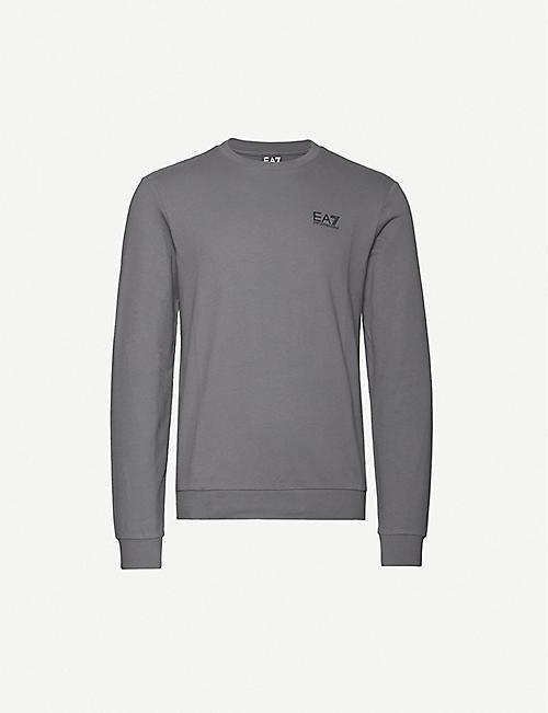 EA7 Men/'s Jersey T-Shirt Multicoloured