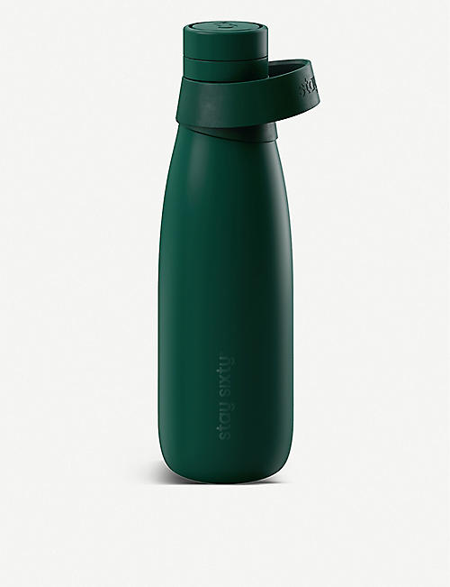 STAY SIXTY: Emerald Edition stainless steel bottle 500ml
