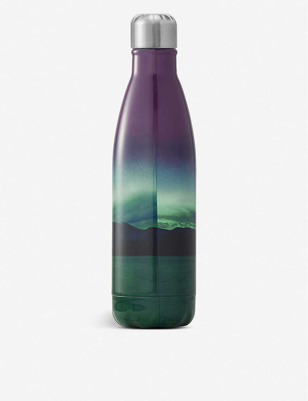 SWELL: BBC Earth Northern Lights stainless steel water bottle 500ml