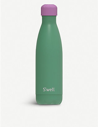 SWELL: Love You So Matcha stainless steel water bottle 500ml