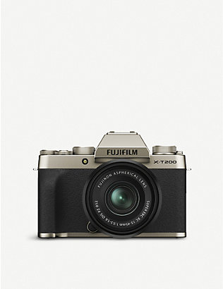 FUJIFILM: X-T200 Compact Mirrorless Camera Kit