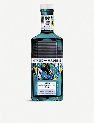 GIN: Method and Madness Irish Micro-distilled gin 700ml