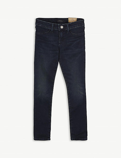 RALPH LAUREN: Cotton-blend skinny jeans 7-16 years