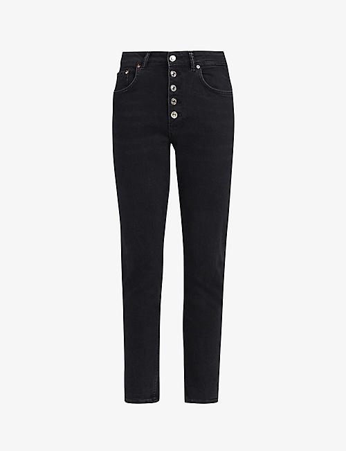 ALLSAINTS: Jules high-rise denim jeans