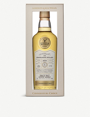 WHISKY AND BOURBON Gordon & MacPhail Connoisseurs Choice 2005 Craigellachie single malt Scotch whisky 700ml