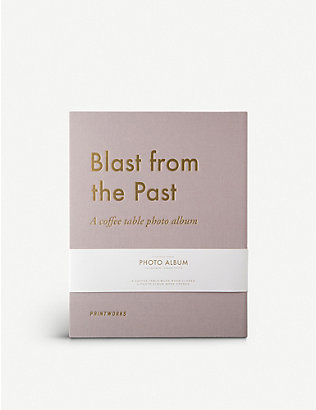 PRINT WORKS: Blast from the Past photo album 28cm x 21cm