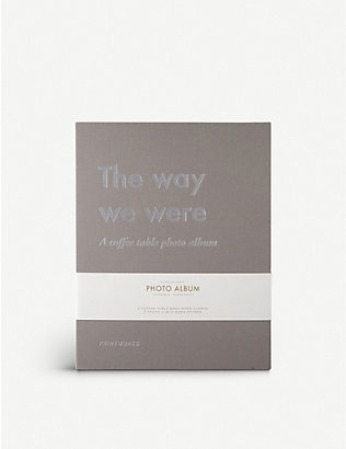 PRINT WORKS: The way we were photo album 28cm x 21cm
