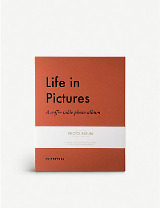 PRINT WORKS: Life in Pictures photo album 21cm x 28cm