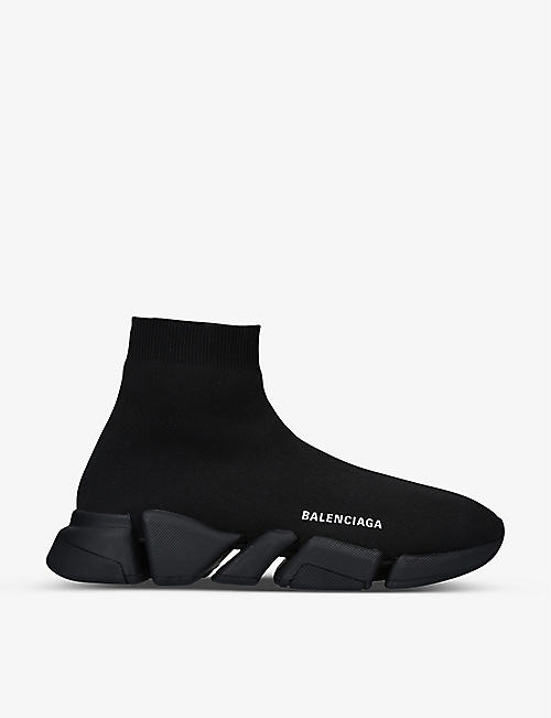 BALENCIAGA: Speed 2.0 stretch-knit trainers