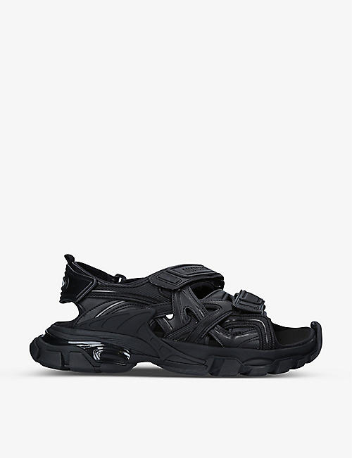 BALENCIAGA: Track neoprene and rubber sandals