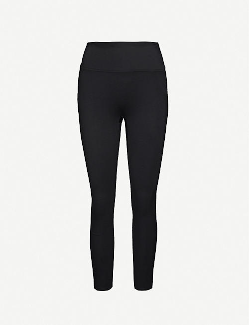 SPANX: Ponte high-rise stretch-woven leggings