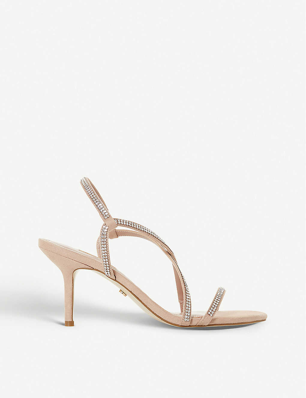 DUNE: Mojos embellished strappy leather sandals