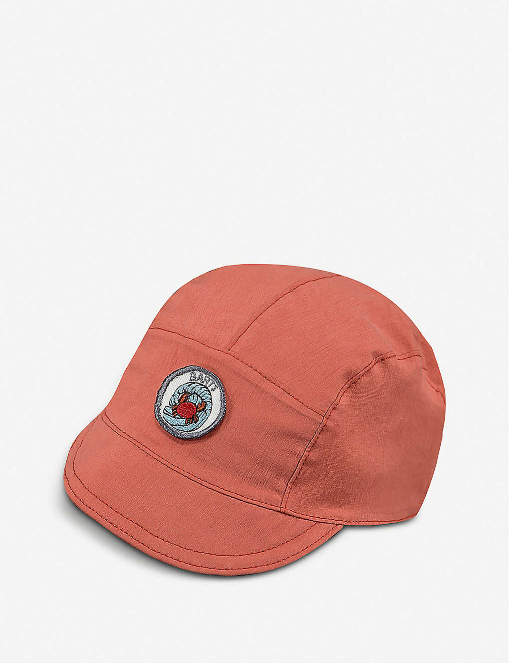 BARTS AL: Bolivia embroidered-patch cotton cap