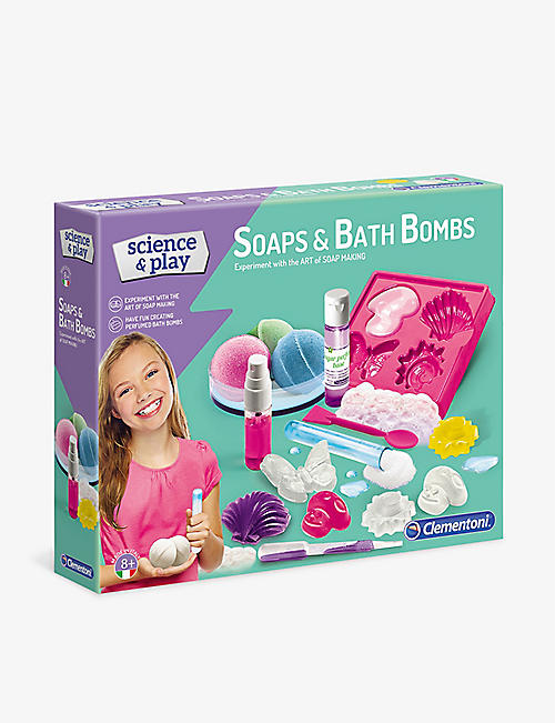 SCIENCE & PLAY: Soap and Bath Bomb Lab Kit