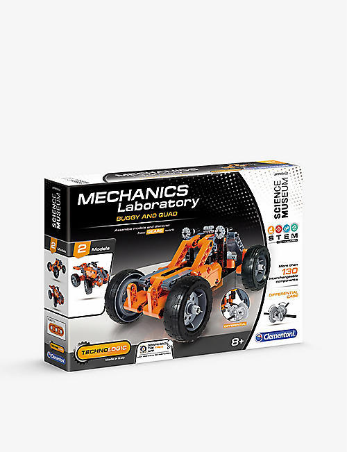 SCIENCE MUSEUM: Mechanics Laboratory Buggy and Quad car assembly kit