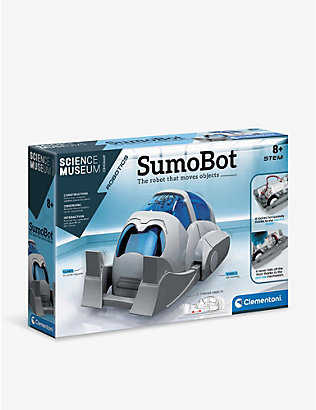 SCIENCE MUSEUM: Sumobot robot-builder kit