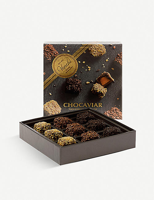 VENCHI: Assorted chocaviar gift box 130g