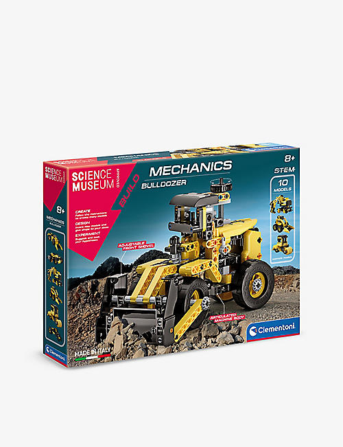 SCIENCE MUSEUM: Mechanics Laboratory Bulldozer building set