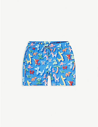 BOARDIES: Balloon animal print swim shorts 1-13 years