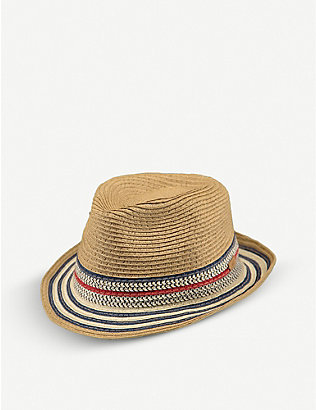BARTS AL: Kids Hare striped woven trilby hat