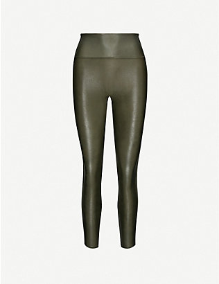 SPANX: High-rise stretch-woven leggings