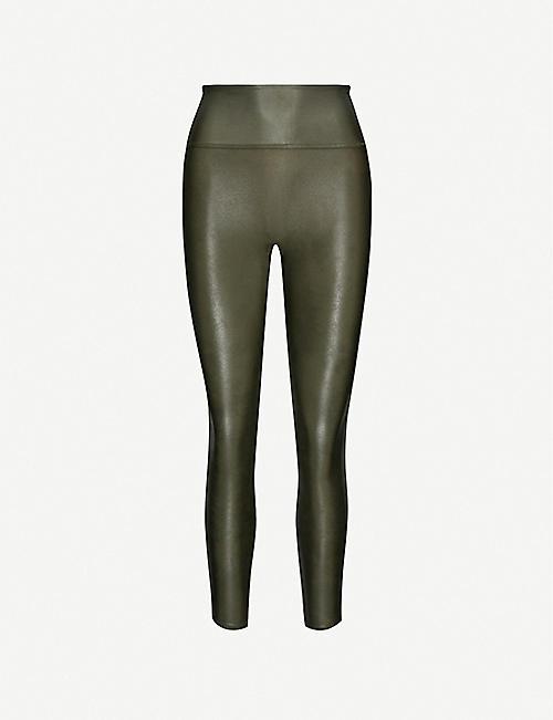 SPANX High-rise stretch-woven leggings