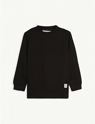 PREVU: Knitted sweatshirt 4-14 years