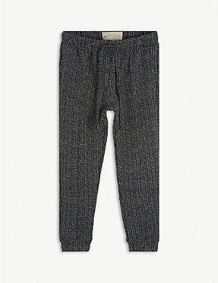 PREVU: Textured knitted jogging bottoms 4-14 years
