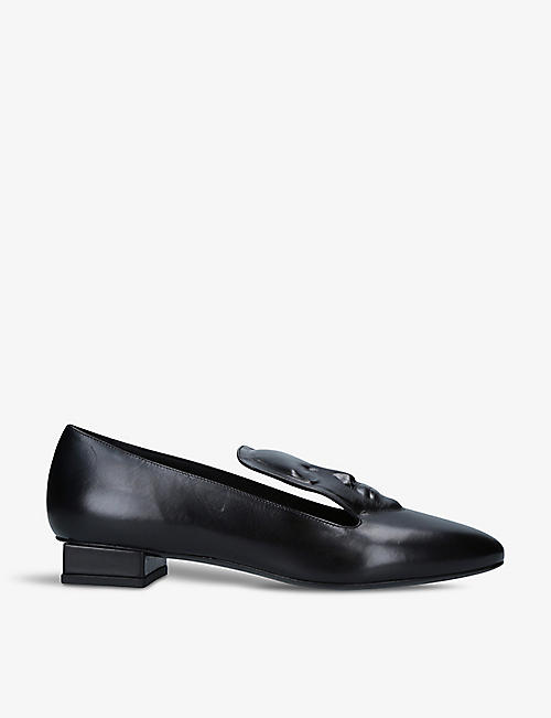 GANOR DOMINIC: Selne leather mules