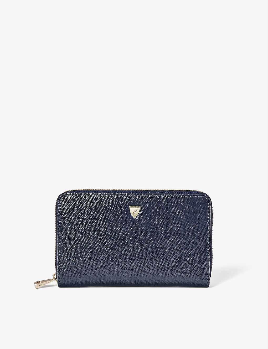 ASPINAL OF LONDON: Midi Continental leather wallet