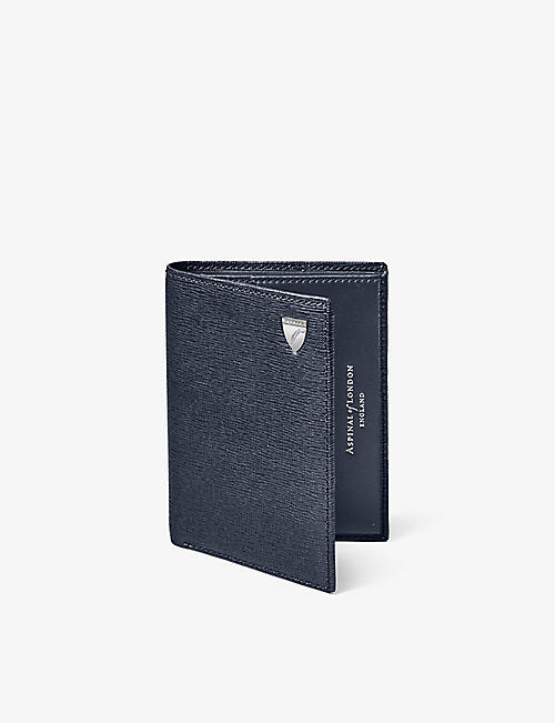 ASPINAL OF LONDON: Card and notes leather wallet